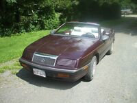 1991 Chrysler Lebaron Convertible