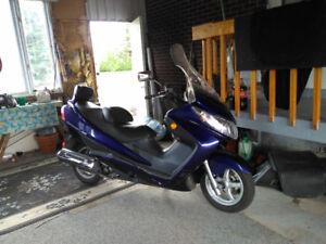 Moto Suzuki Burgman 400 - 2009