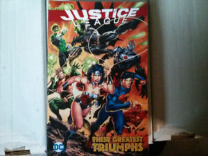 Justice League Their greatest triumphs TPB comic $10