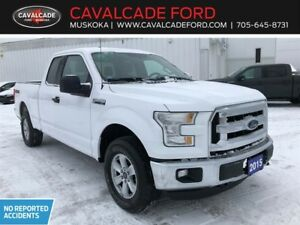 2015 Ford F-150 4x4 - Supercab XLT trailer tow pkg,no accidents