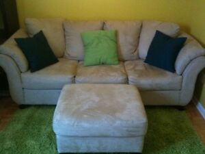 Sofa , Hide a bed and TV stand -moving sale-available July 30