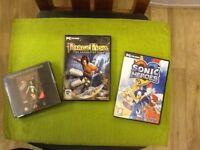 PC CD ROM GAMES X 3