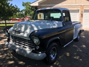 1955 Chevrolet 2nd Series Pickup w/ New Fender, Doors, and Glass