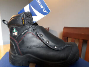 Steel Toe Safety Boots size mens 6 fits ladies 8