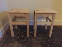 Beside table stools