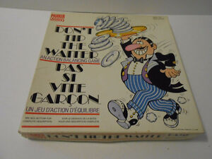 Don't Tip the Waiter- 1979 - VERY RARE VINTAGE GAME London Ontario image 1