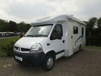 Lunar Premier H592 Automatic, Low Profile, Fixed Rear Bed, Motorhome for Sale
