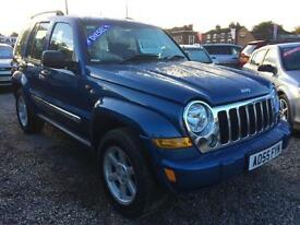 2005 JEEP CHEROKEE 2.8 CRD Limited DIESEL SERVICE HIST