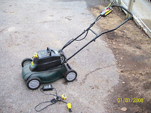 battery operated lawn mower