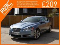 2008 Jaguar XF 2.7D V6 Turbo Diesel Luxury 6 Speed Auto Sunroof Sat Nav Bluetoot