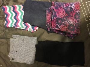 Girls - pants (5) - size: 10, 10-12