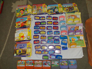 Variety of 60 Childrens Games: LeapPad, Leap Frog & Vtech