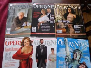 OPERA NEWS MONTHLY MAGAZINES 2008-2014 COMPLETE West Island Greater Montréal image 3