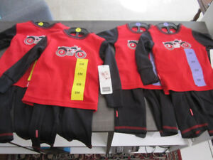 Kushies, Boys 3 Month & 6 Month, 2-pc, BNWT:REDUCED$5.00