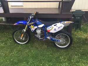 1999 YAMAHA YZ 400F!!!!! LOTS OF EXTRAS!!!! SELL OR TRADE!!!!