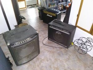 Amps and stuff for sale