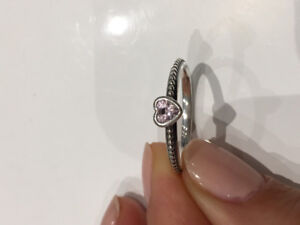 Pandora, One Love Stackable Ring, Size 8.5.