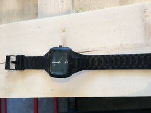 Nixon black Rubber Player