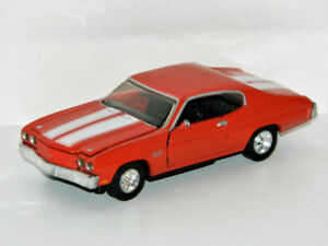 Road Champs 1/43 1970 Chevrolet Chevelle Diecast Car