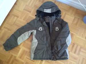 Winter jacket and snowpants for girls
