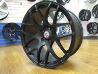 19 Inch Open Box Staggered Matte Black Wheels $550 CASH CarKraze