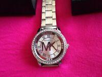 New MK sliver watch