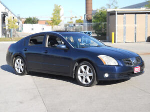2005 Nissan Maxima, Automaic, Leather, Sunroof, Only 163000 km.