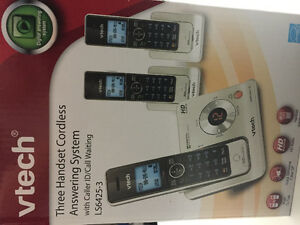 Vtech Three Handset Cordless Answering System LS6425-3