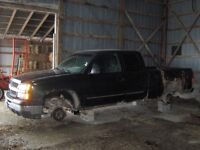 Parting out 03 Chev Pickup