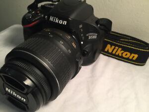 """""""Nikon D5100 DSLR """" + 18-55 Lens, Strap, Accessories"""