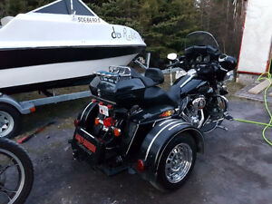2009 Harley Electra Glide with voyager kit