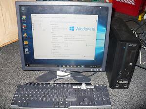 Acer mini desktop in excellent working condition.