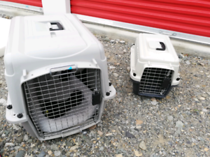 2 crates for dogs or cats