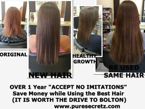 HAIR EXTENSIONS*SAVE $400-$600 COMPAIRED TO OTHER SALONS Peterborough Peterborough Area image 5