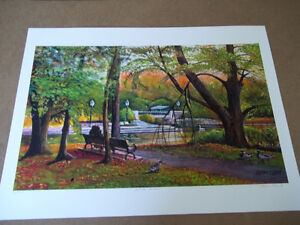 "13.5"" x 22"" Framed Print by Glenn Clarke Autumn Gliss"