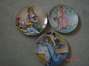 SET OF 7 BECKY'S DAY COLLECTOR PLATES