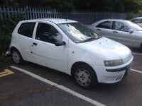 Fiat punto White. 2003. Mot. Tax