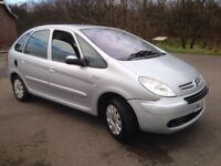 CITROEN XSARA PICASSO EX-SIVE HDI 1.6 DIESEL,2005,ONLY 93000 MILES,£895!