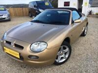 MG MGF VVI, Gold, Manual, 1.8 Petrol, 2001