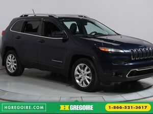 2014 Jeep Cherokee Limited 4WD A/C CUIR TOIT MAGS BLUETHOOT