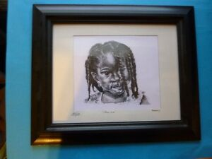 "ADRIAN COMPTON ORIGINAL ""JAMIMA"" INKING FROM BARBADOS"