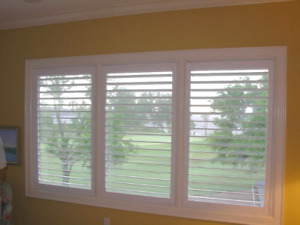 Blinds, California Shutters & Shades! Free Estimate! 6477860121