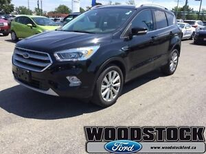 2017 Ford Escape Titanium  CERTIFIED PRE OWNED 1.99%  OAC UP TO