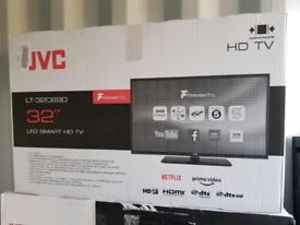 TV brand new 32inch SMART WIFI jvc