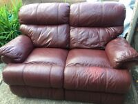 Recliner sofa. Delivery