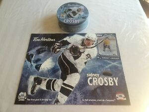 Sidney Crosby Tim Hortons Collectors puzzle with tin