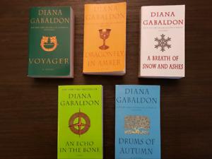 Outlander Series books by Diana Gabaldon