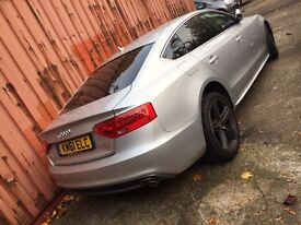 2012 Audi A5 3.0 tdi s line Quattro s tronic auto Sportback spares or repairs salvage damaged
