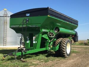 1282 Brent grain cart