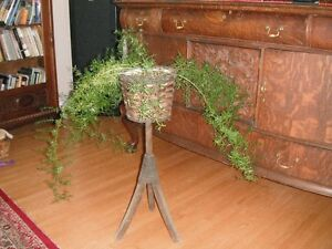 WOOD PLANT STAND Moose Jaw Regina Area image 1
